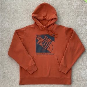 Men's North Face hoodie
